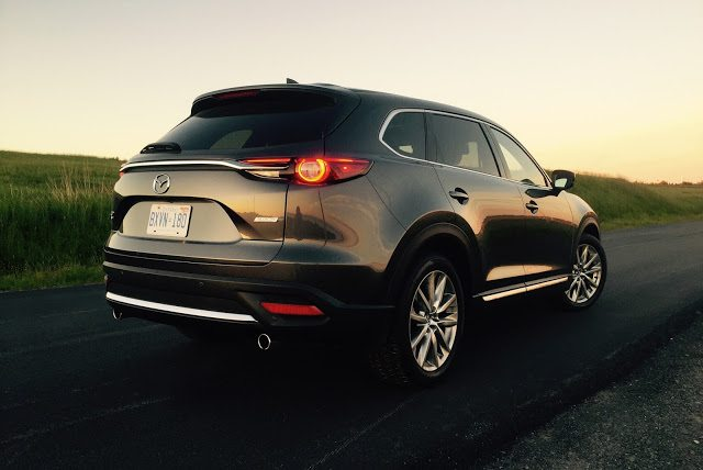 2016 Mazda CX-9 Signature rear
