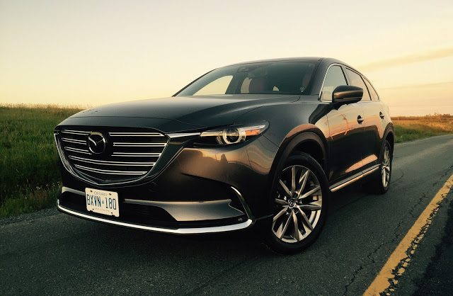 2016 Mazda CX-9 Signature Machine Grey