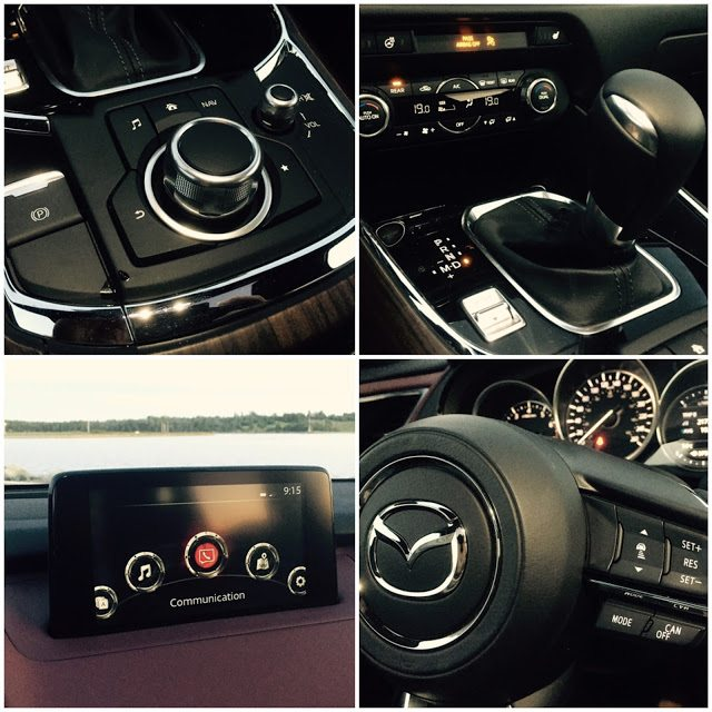 2016 Mazda CX-9 Signature interior detail
