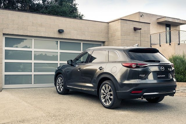2017 Mazda CX-9 grey rear
