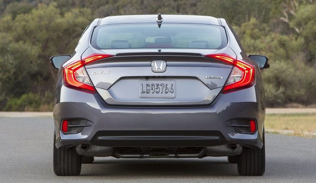 2016 Honda Civic sedan rear