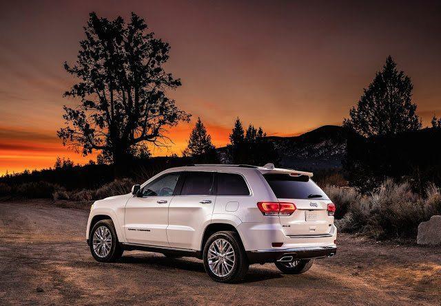2016 Jeep Grand Cherokee Summit white