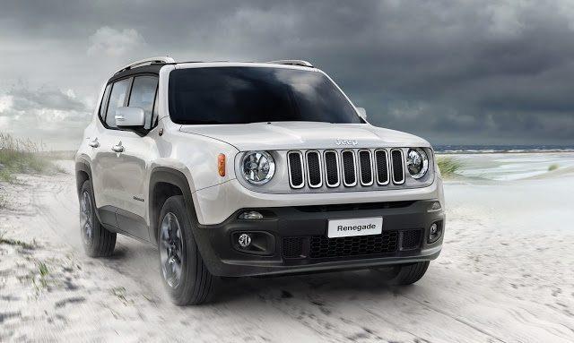 2016 Jeep Renegade white