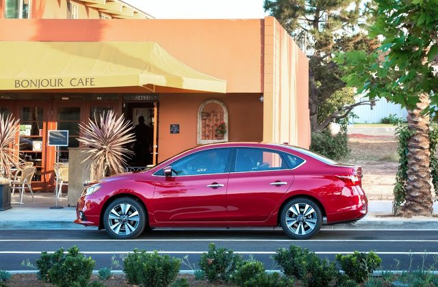 2016 Nissan Sentra red