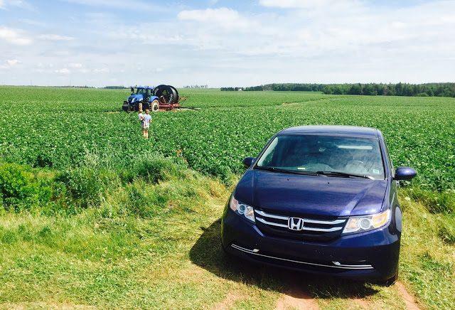 2015 Honda Odyssey EX PEI Farm