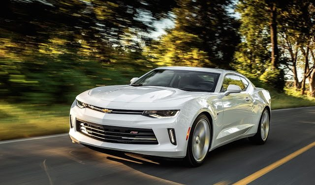 2016 Chevrolet Camaro white