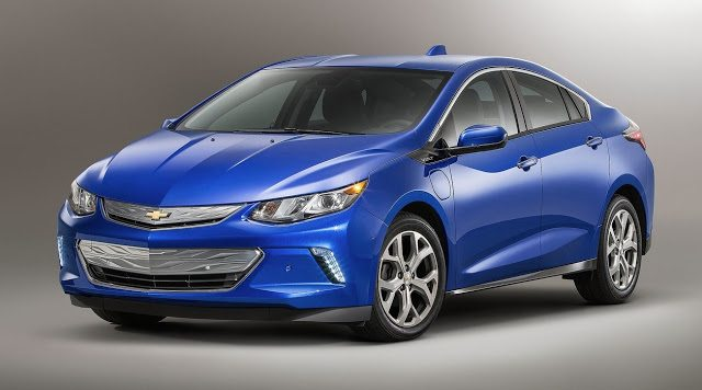 2016 Chevrolet Volt blue