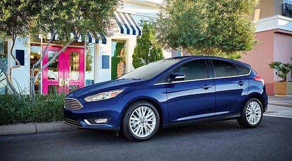 2016 Ford Focus Titanium Blue