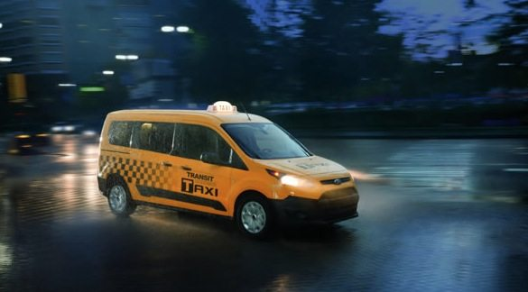 2016 Ford Transit Connect taxi