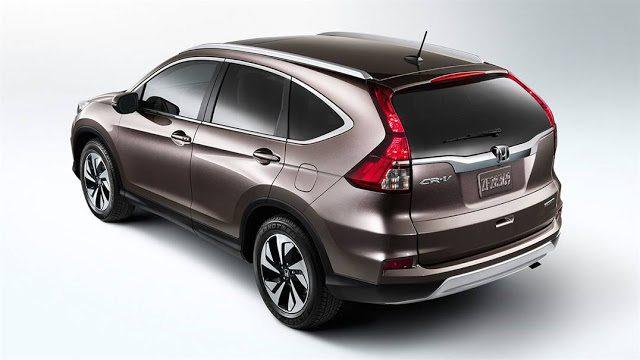 2016 Honda CR-V brown