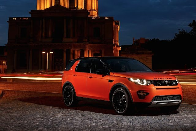 2016 Land Rover Discovery Sport orange