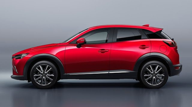 2016 Mazda CX-3 red