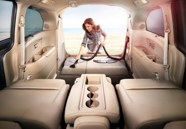2015 Honda Odyssey vacuum