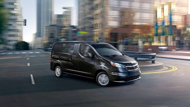 2016 Chevrolet City Express black