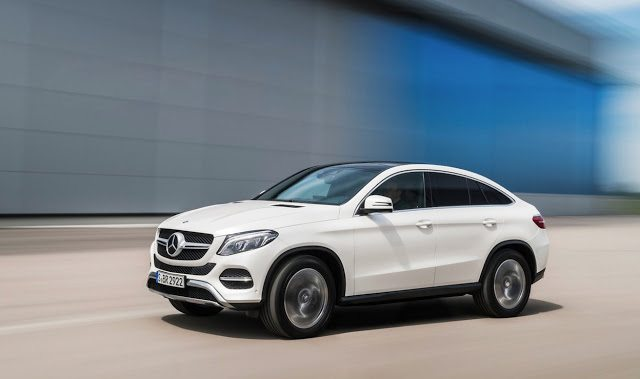 2016 Mercedes-Benz GLE Coupe white