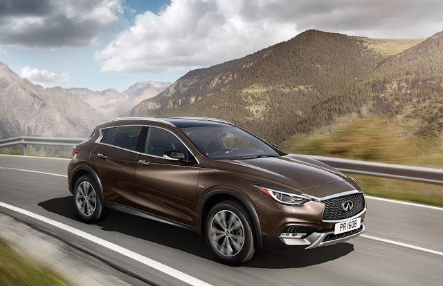2017 Infiniti QX30 brown