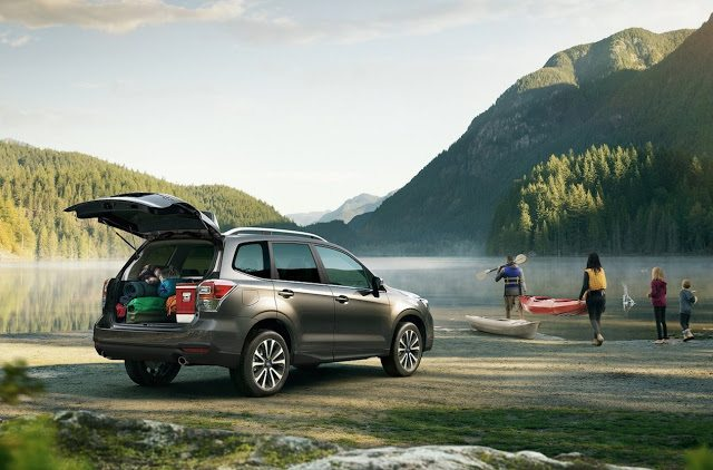 2017 Subaru Forester mountains