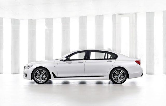 2016 BMW 7-Series white