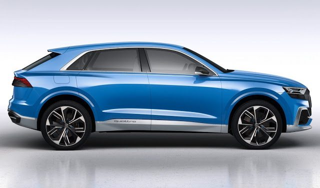2018 Audi Q8 Sales Reports