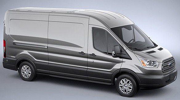 2017 Ford Transit ingot Silver