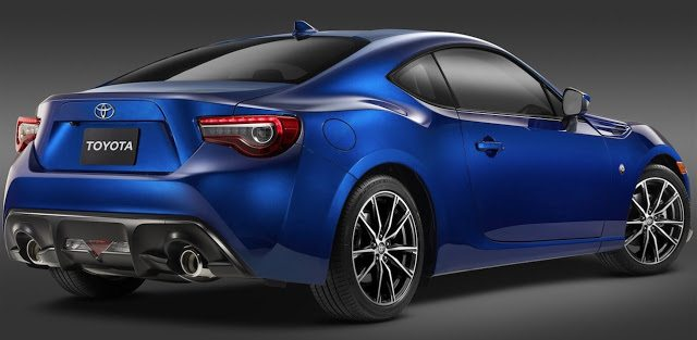 2017 Toyota 86 blue