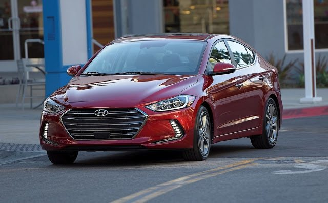 2017 Hyundai Elantra red