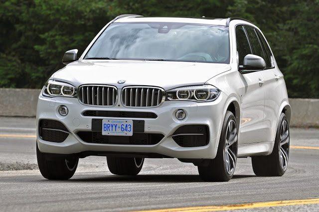 2016 BMW X5 white front