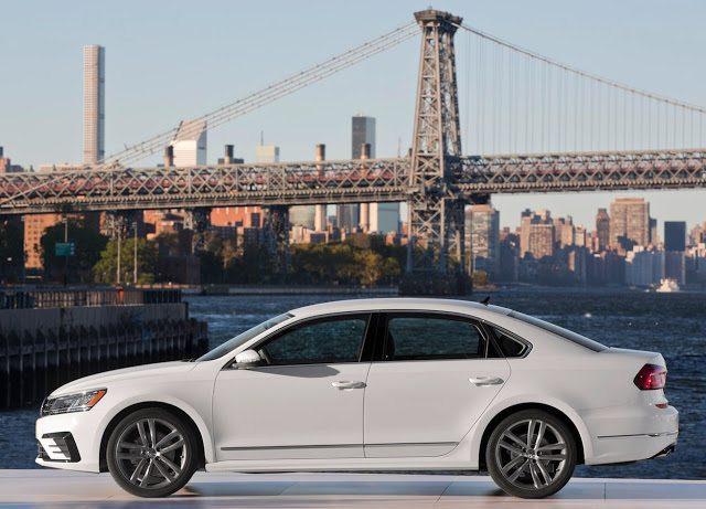 2016 Volkswagen Passat white Manhattan