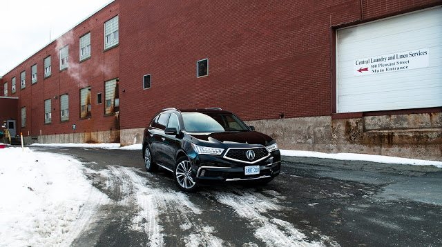 2017 Acura MDX Elite black front