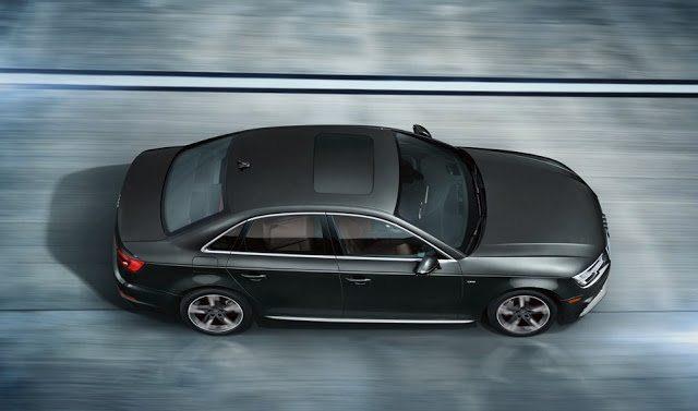 2017 Audi A4 sedan grey