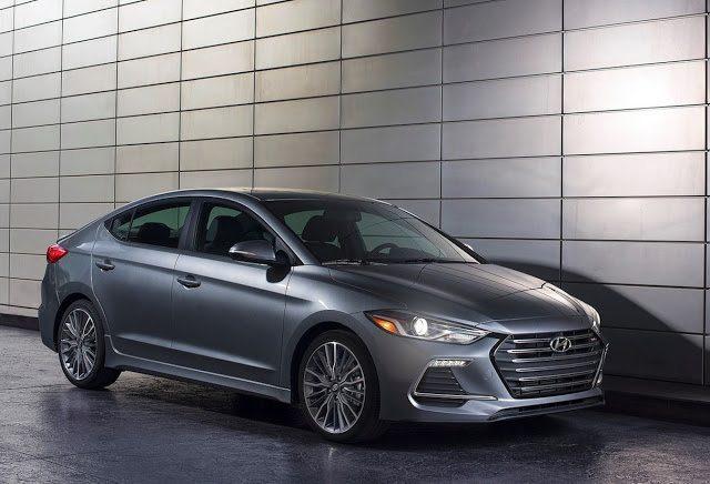 2017 Hyundai Elantra Sport grey
