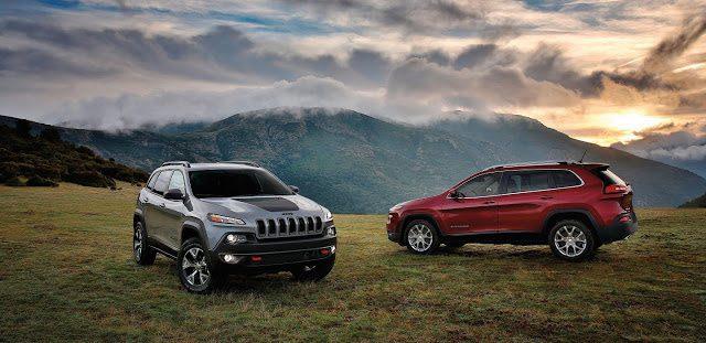 2017 Jeep Cherokee Trailhawk and Latitude: Image - Jeep