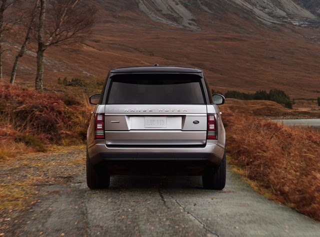 2017 Land Rover Range Rover rear