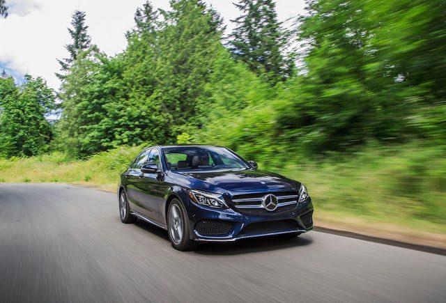 2016 Mercedes-Benz C-Class front