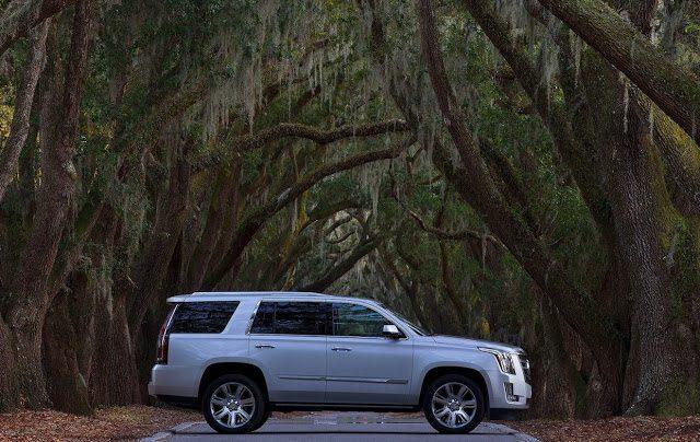 2016 Cadillac Escalade silver