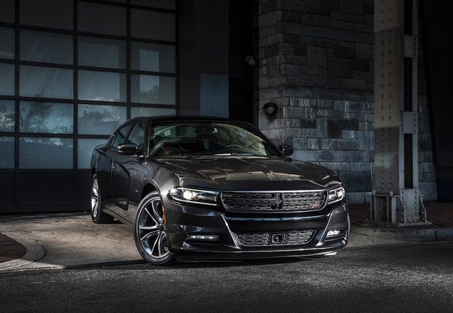 2016 Dodge Charger black