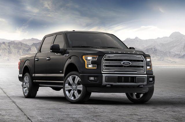 2016 Ford F-150 Limited black