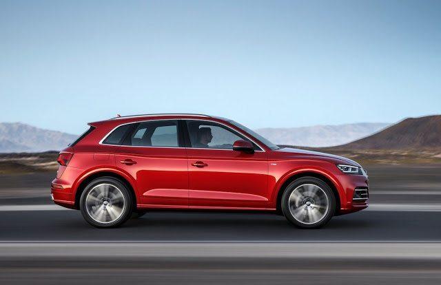 2017 Audi Q5 red
