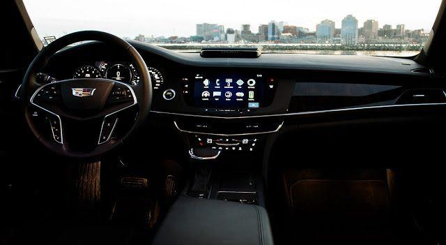 2017 Cadillac CT6 interior