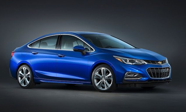 2017 Chevrolet Cruze blue