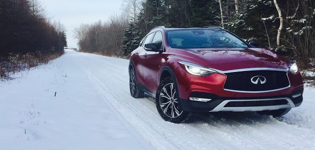 2017 Infiniti QX30 AWD Magnetic Re front