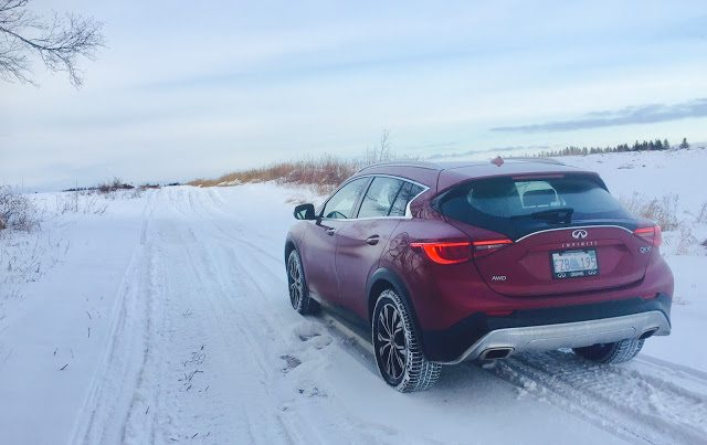 2017 Infiniti QX30 AWD rear