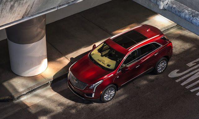2017 Cadillac XT5 red