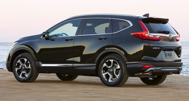 2017 Honda CR-V touring black
