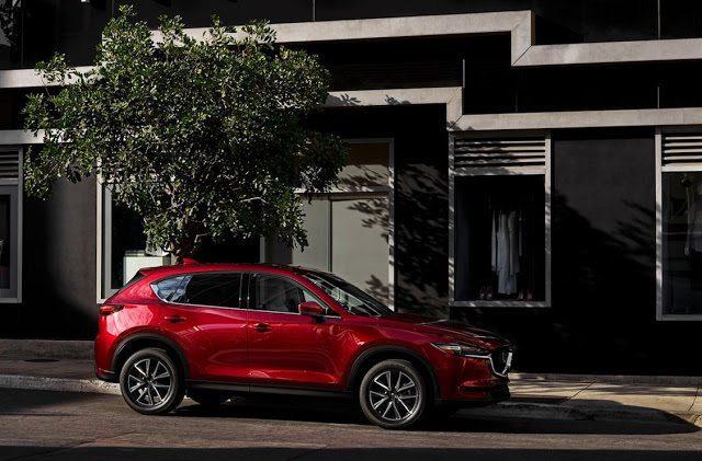 2017 Mazda Cx 5 Red