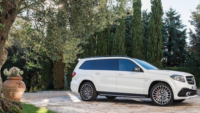 2017 Mercedes-Benz GLS63 AMG white