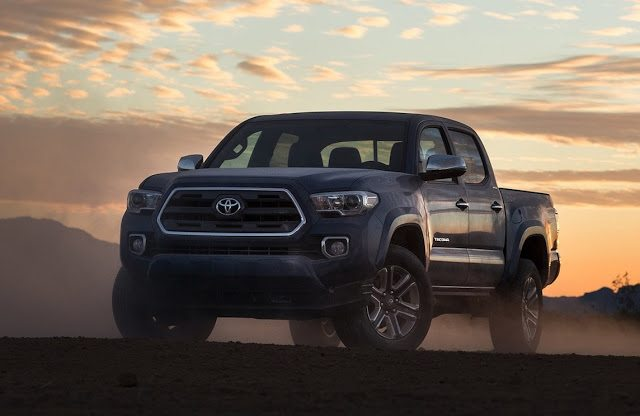 2016 Toyota Tacoma Blue Although Canadian S Of The Top Ing Pickup Truck