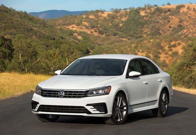 2017 Volkswagen Passat white