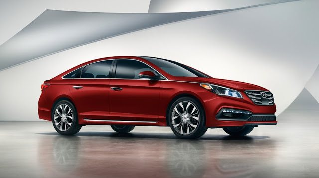2017 Hyundai Sonata red