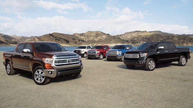 2017 Toyota Tundra lineup